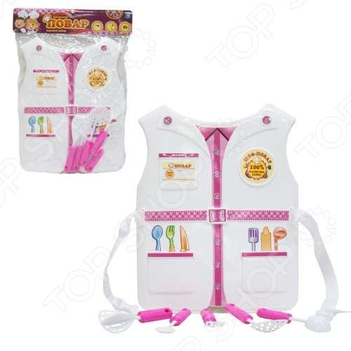 Игровой набор для ребенка 1 Toy «Костюм Профи с жилетом - Повар»