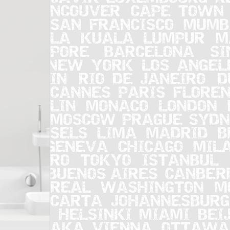 Купить Штора для ванной Bacchetta City