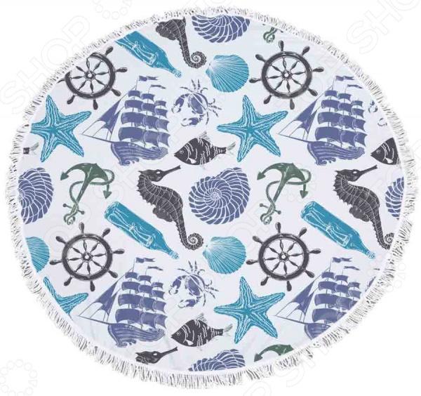 Полотенце-коврик пляжный Bradex «Море»