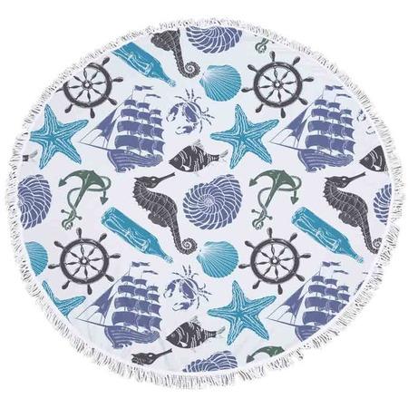 Купить Полотенце-коврик пляжный Bradex «Море»