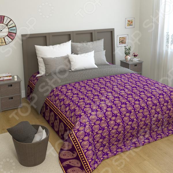 Покрывало стеганое Сирень «Киара» желтое покрывало на кровать
