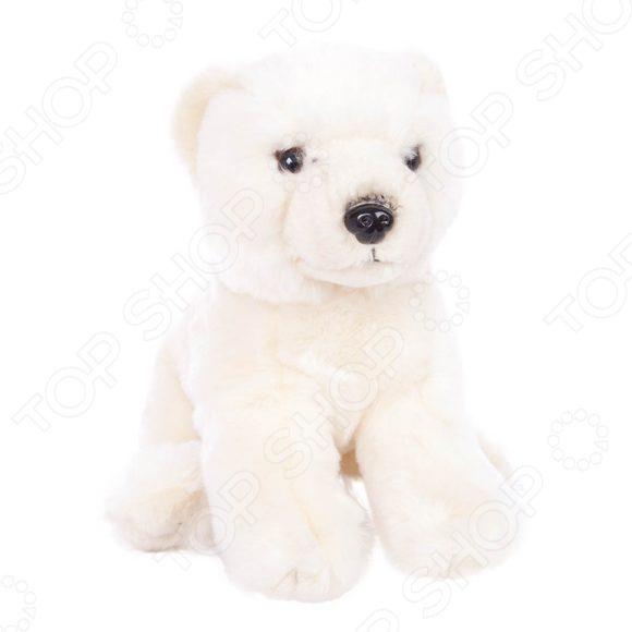 Мягкая игрушка Fluffy Family «Белый медведь сидячий»