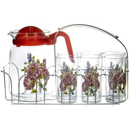 Купить Набор: кувшин и 6 стаканов OlAff SLD-7DS915-R-002