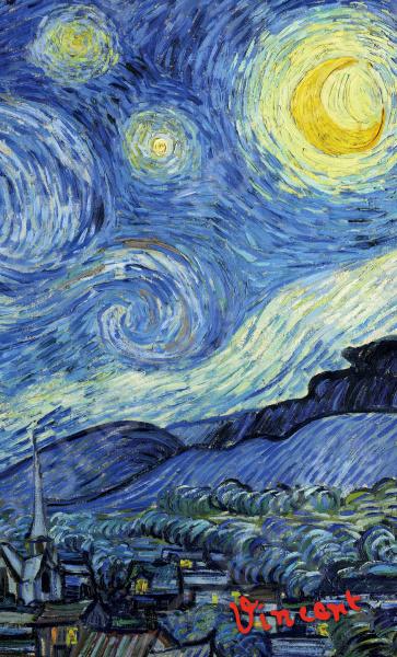 Блокноты. Тетради Эксмо 978-5-699-92466-0 Ван Гог. Звездная ночь. Блокнот