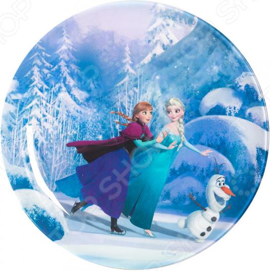 Тарелка десертная детская Luminarc Disney «Холодное сердце»