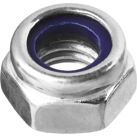 Купить Набор гаек Зубр с нейлоновым кольцом DIN 985