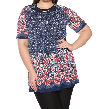 Купить Блуза Лауме-Лайн «Источник красоты». Цвет: красный