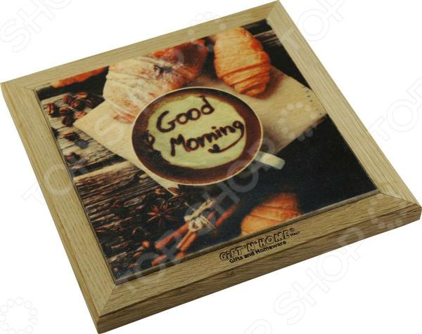 Подставка под горячее Gift'n'home «Доброе утро!» подставки под телевизоры