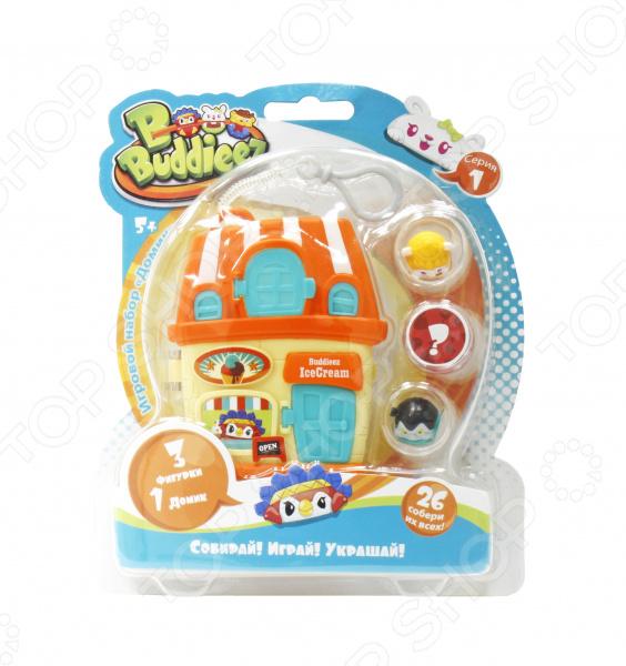 """Игровой набор с фигурками 1 Toy Bbuddieez """"Домик с подвеской"""""""