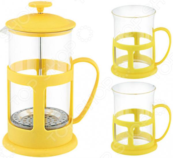 Набор: френч-пресс и чашки Mallony Variato Set