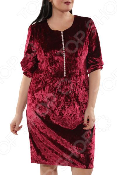 Платье Wisell «Бархатный шик»