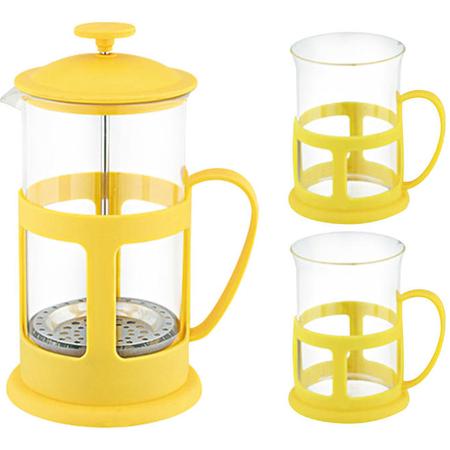 Купить Набор: френч-пресс и чашки Mallony Variato Set. В ассортименте