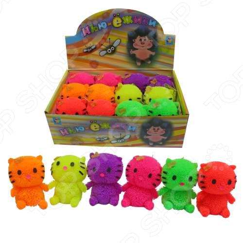 Игрушка-антистресс 1 Toy со светом «Котенок». В ассортименте