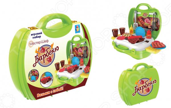 Игровой набор для ребенка 1 Toy в чемоданчике «Мастер-Шеф: Барбекю»