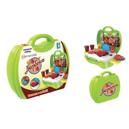Купить Игровой набор для ребенка 1 Toy в чемоданчике «Мастер-Шеф: Барбекю»