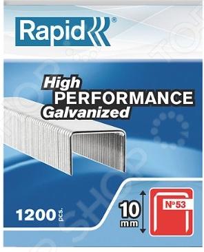 Скоба Rapid 53/10 1,26 M Workline скобы для степлера rapid 12мм тип 53 5000шт workline 11859610