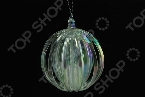 Новогоднее украшение Crystal Deco «Шар перламутровый» новогоднее украшение crystal deco шар перламутровый