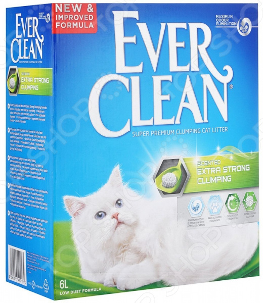 Наполнитель для кошачьего туалета Ever Clean Extra Strong Clumping Scented 29007