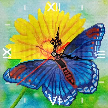 Купить Часы из алмазной мозаики Color Kit «Лето»
