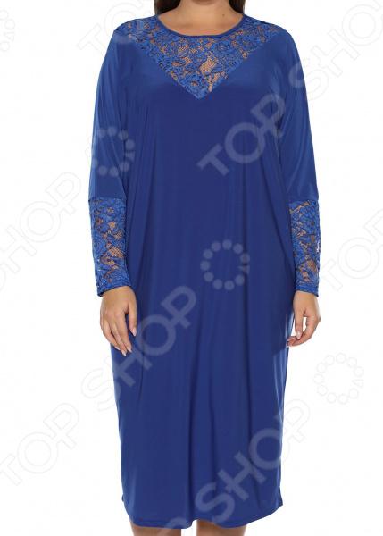 Платье «Лаурель». Цвет: васильковый платье футболка женское deha из трикотажного хлопка