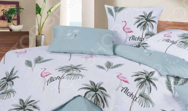 Комплект постельного белья Ecotex «Алоха»