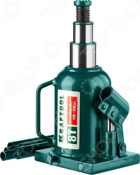 Домкрат гидравлический бутылочный Kraftool Double Ram Домкрат гидравлический бутылочный Kraftool 43463-8 /8