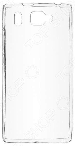 Чехол защитный skinBOX Prestigio Grace Q5 смартфон prestigio grace z5 серебристый 5 3