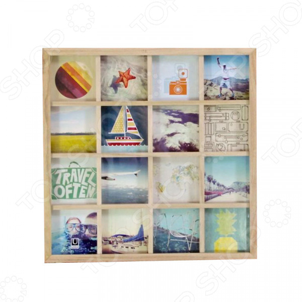 Панно для фотографий Umbra Gridart
