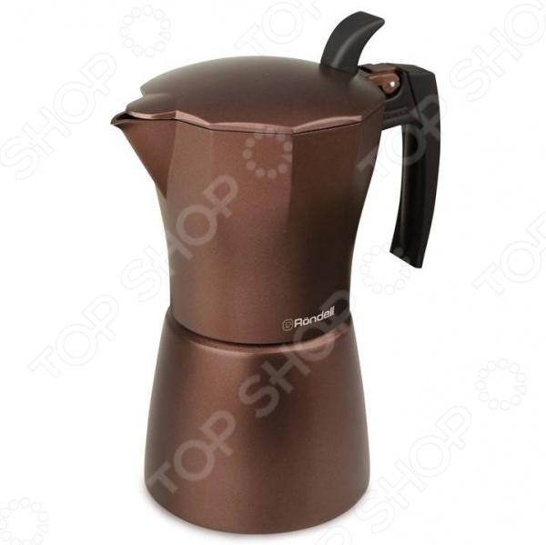 Кофеварка гейзерная Rondell Kortado RDA-399 кофеварка гейзерная на 9 чашек rondell kortado rda 399