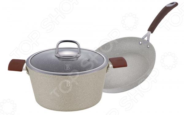 Набор: сковорода и кастрюля Berlinger Haus BH-1188 Stone Touch