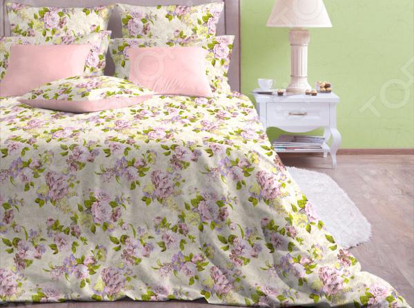 где купить Комплект постельного белья Хлопковый Край «Розарий» по лучшей цене