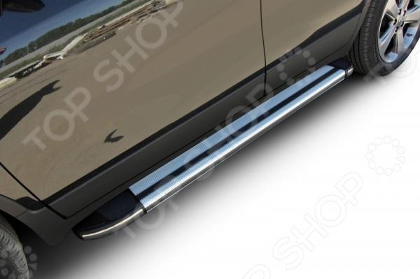 Комплект защиты штатных порогов Arbori Luxe 1600 для Opel Mokka, 2013 плавки от купальника с графическим рисунком
