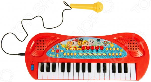 Музыкальная игрушка Paw Patrol «Синтезатор с микрофоном»