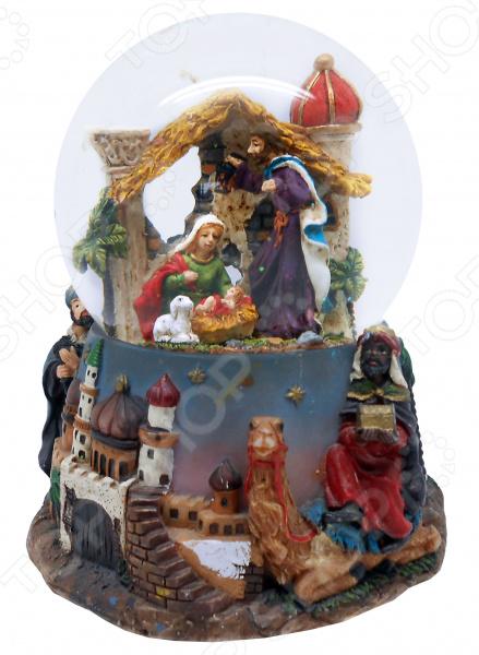 Снежный шар музыкальный Crystal Deco «Рождество» 1707560 Снежный шар музыкальный Crystal Deco «Рождество» 1707560 /