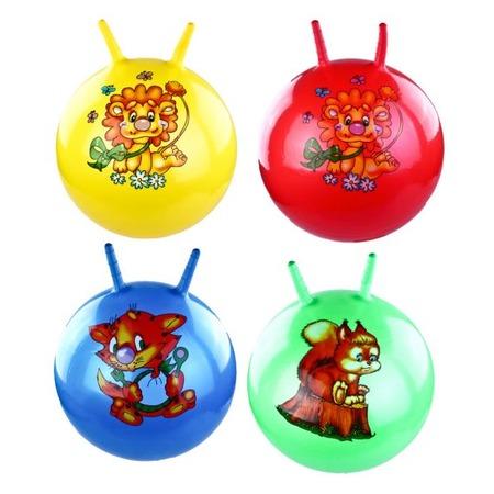 Купить Мяч-попрыгун Shantou Gepai с двумя ручками. В ассортименте