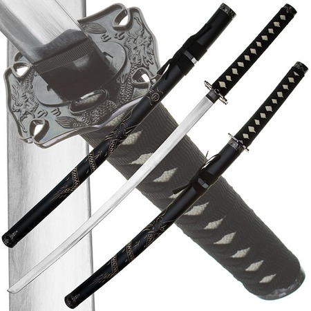 Купить Набор из двух самурайских мечей Dark Age JP-627 Jamato-no Oroti