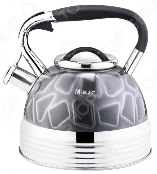 Чайник со свистком Mercury MC-6582 цена