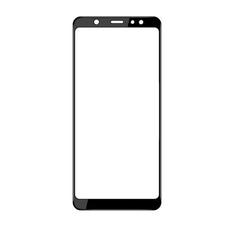 Стекло защитное 2.5D Media Gadget для Samsung Galaxy A6 Plus 2018