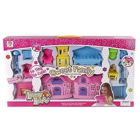 Купить Домик кукольный Shantou Gepai WL9955A