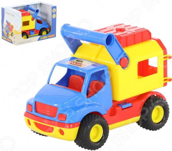 Машинка игрушечная Wader «КонсТрак. Фургон» фургон wader спасательная команда 0537 24 см