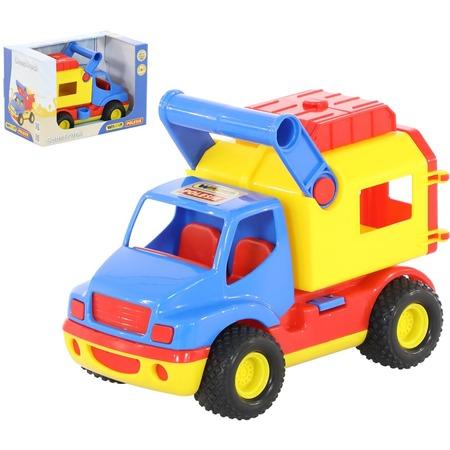 Купить Машинка игрушечная Wader «КонсТрак. Фургон»