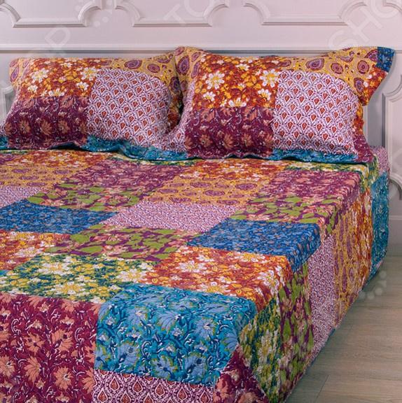 Комплект для спальни: покрывало и наволочки Santalino 806-017 для спальни