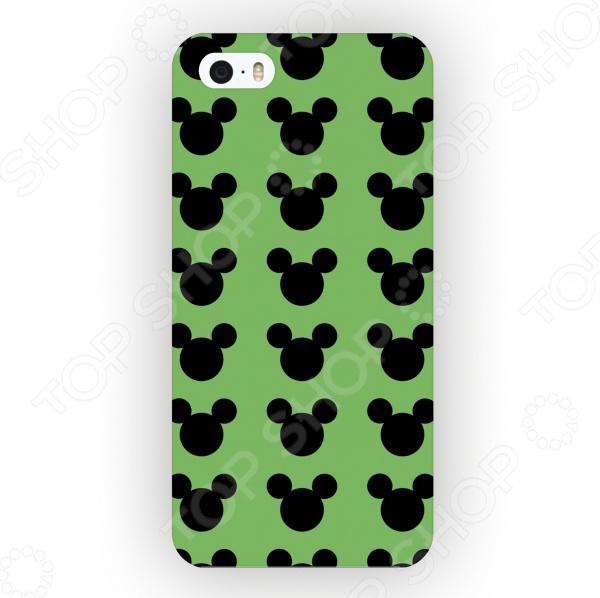 Чехол для iPhone 5 Mitya Veselkov «Много Микки» mitya veselkov тюльпановый принт чехол для apple iphone 5 5s