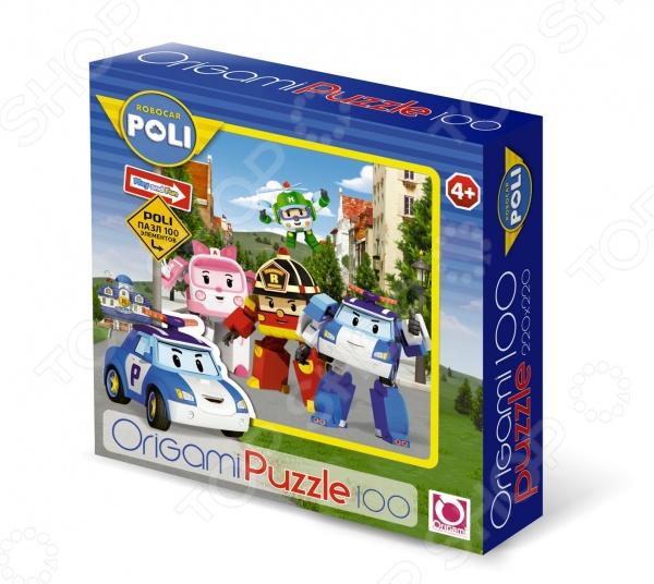 Пазл 100 элементов Оригами Robocar Пазл 100 элементов Оригами Robocar /