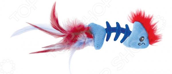 Игрушка для кошек Petstages Play Fish Bone игрушка для кошек petstages orka катушка с веревочкой