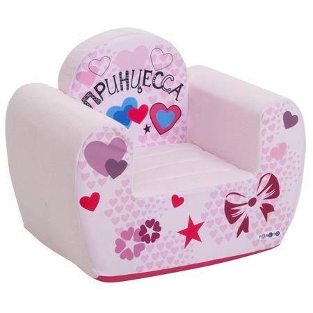 Купить Кресло детское игровое PAREMO «Принцесса». Цвет: бледно-розовый