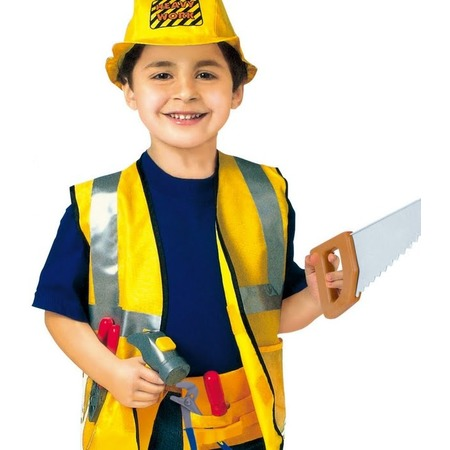 Купить Ролевой костюм для мальчика Город игр с каской «Строитель»