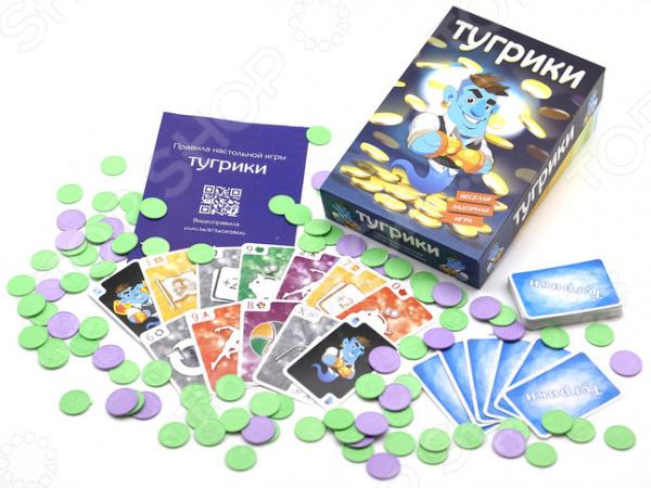 Игра карточная DOJOY «Тугрики»