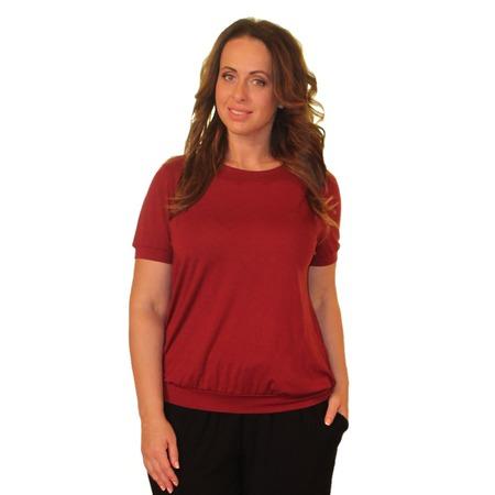 Купить Блуза Матекс «Власта». Цвет: бордовый