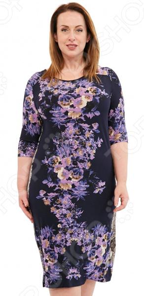 Платье Лауме-Лайн «Мадонна». Цвет: сиреневый блуза лауме лайн перелетная птица цвет бордовый